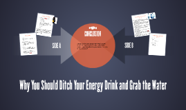 Why You Should Ditch Your Energy Drink and Grab the Water