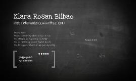 Klara Rosan Bilbao