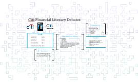 Citi Financial Literacy Debates