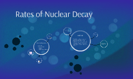 Rates of Nuclear Decay