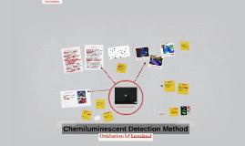 Chemiluminescent Detection Method