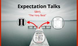 Expectation Talks