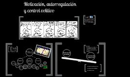 Autorregulación y control volitivo