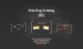 Urine Drug Screening