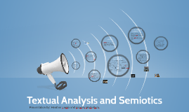 Copy of Textual Analysis and Semiotics