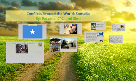 Copy of Conflicts Around the World: Somalia