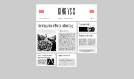 KING VS X