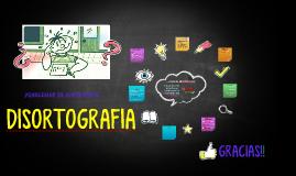 Copy of DISORTOGRAFIA
