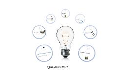 Que es GIMP?