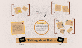 Talking about Habits