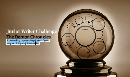 Junior Writer Challenge