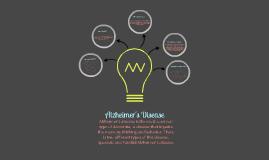 Copy of Alzheimer's Disease