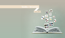 books + brownies