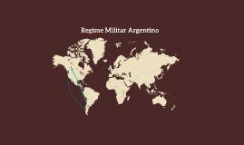 Regime militar argentino