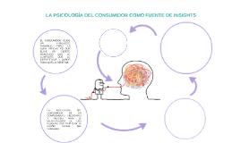LA PSICOLOGÍA DEL CONSUMIDOR COMO FUENTE DE INSIGHTS