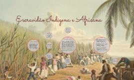 Escravidão Indígena e Africana