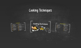 Dry Cooking Techniques
