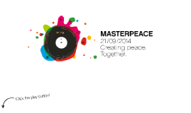 MasterPeace - Creating peace. Together.