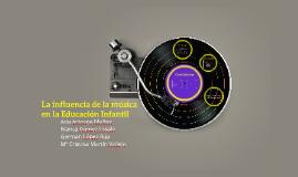 La influencia de la música en la educación infantil