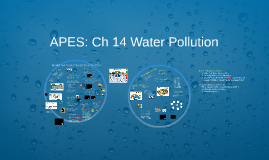 APES: Ch 14 Water Pollution