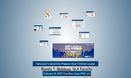 SLA proposed MOOC programs