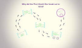 why did world war one break How did wwi start the simplest answer is that the immediate cause was the assassination of franz ferdinand, the archduke of austria-hungary his death at the hands of gavrilo princip – a serbian nationalist with ties to the secretive military group known as the black hand – propelled the major.