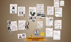 Análisis grafonómico de Ted Bundy