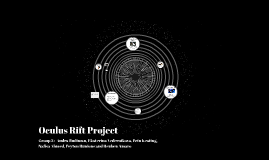 Oculus Rift Project