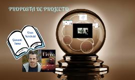 "PROPOSTA DE PROJECTO ""LIVRO""  - Web Design"