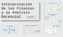 Interpretación de las Finanzas y su Análisis Gerencial
