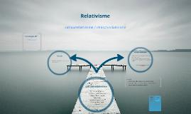 cultuurrelativisme/ethisch relativisme