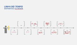 Linha do tempo - Bernardo Oliveira