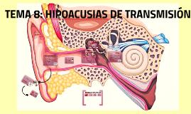 HIPOACUSIA DE TRANSMISION
