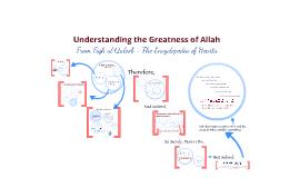 Understanding the Greatness of Allah