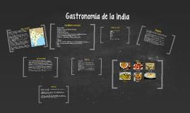 Copy of Gastronimía de la India