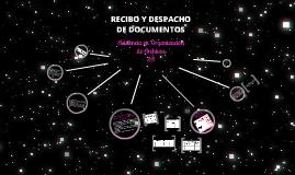 DESPACHO DE DOCUMENTOS
