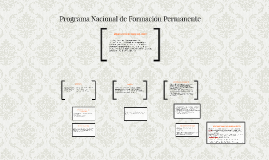 Programa Nacional de Formación Permanente