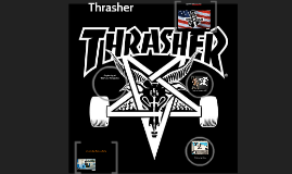 Beginning of Thrasher Magazine
