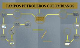 CAMPOS PETROLERO COLOMBIANOS
