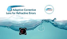 Adaptive Corrective Lens