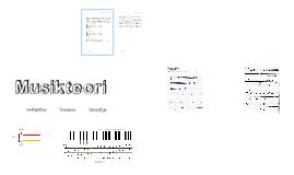 Musikteori - Grunderna