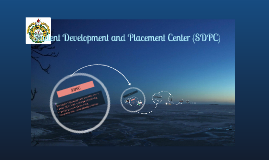 Student Development and Placement Center (SDPC)