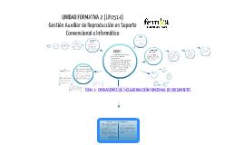 Copy of Tema 2. Operaciones de encuadernación funcional de documentos