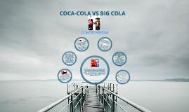 COCA-COLA VS BIG COLA