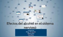 Efectos del alcohol en el sistema nervioso