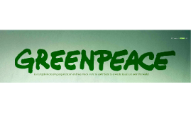 official E-Waste from the Greenpeace POV