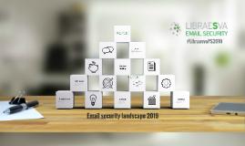 Email security landscape 2019 - Rodolfo Saccani