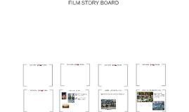 FILM STORY BOARD