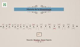 Historia de la Kinesiología