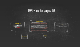 1984 - up to pages 157